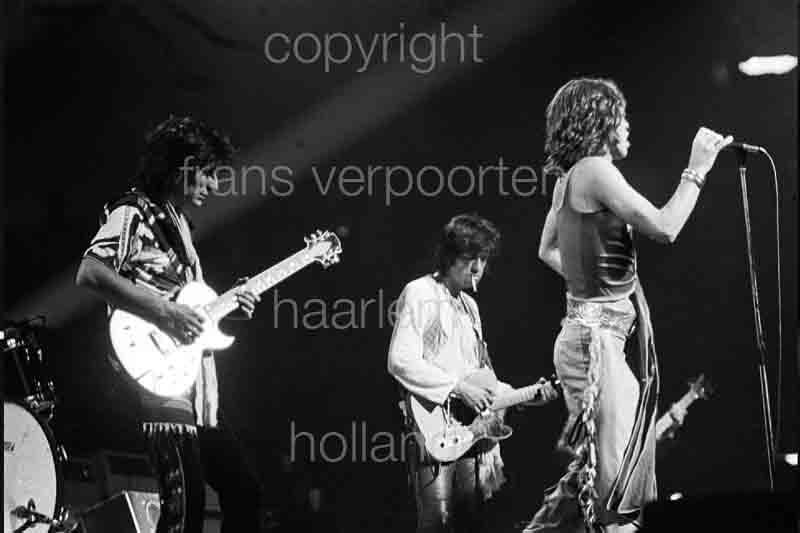 Rolling Stones Mick Jagger Frankfurt Messe 1976