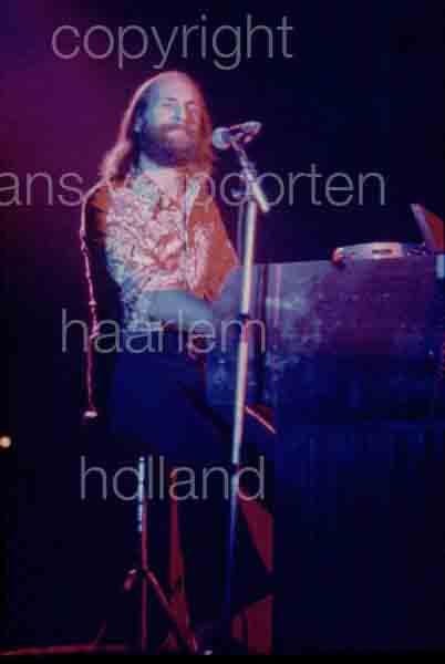 Moody Blues Amsterdam Mike Pinder 1973
