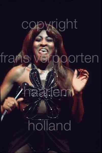 Tina Turner Doelen Rotterdam 1971