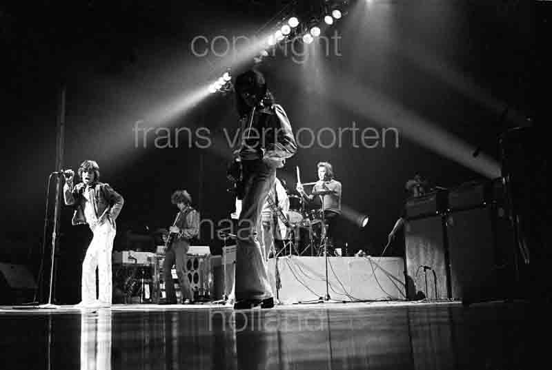 Rolling Stones Mick Jagger Vienna 1973