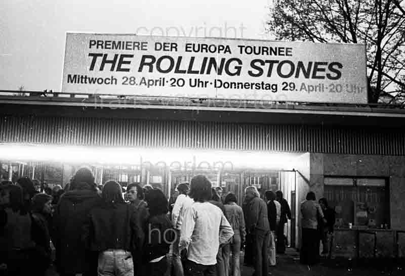 Rolling Stones Vienna Stadthalle 1973