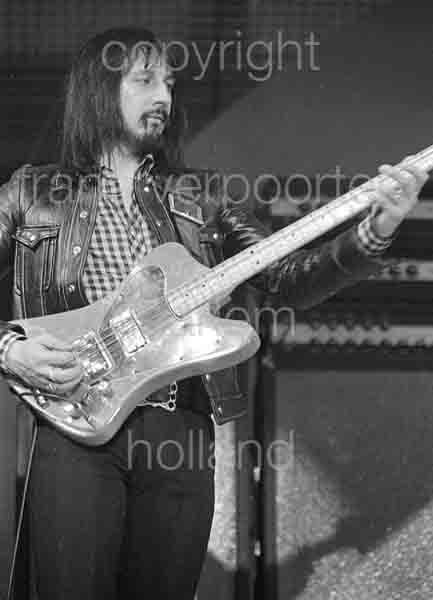 Who John Entwistle Vliegermolen Netherlands 1973