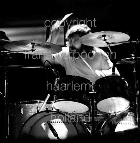 Moody Blues Graeme Edge 1973 Amsterdam