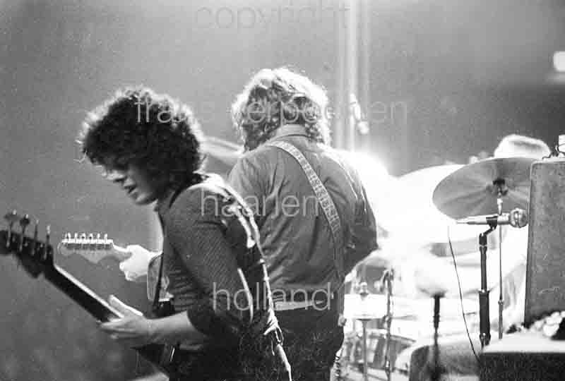 Gerry McAvoy Rory Gallagher Amsterdam 1974