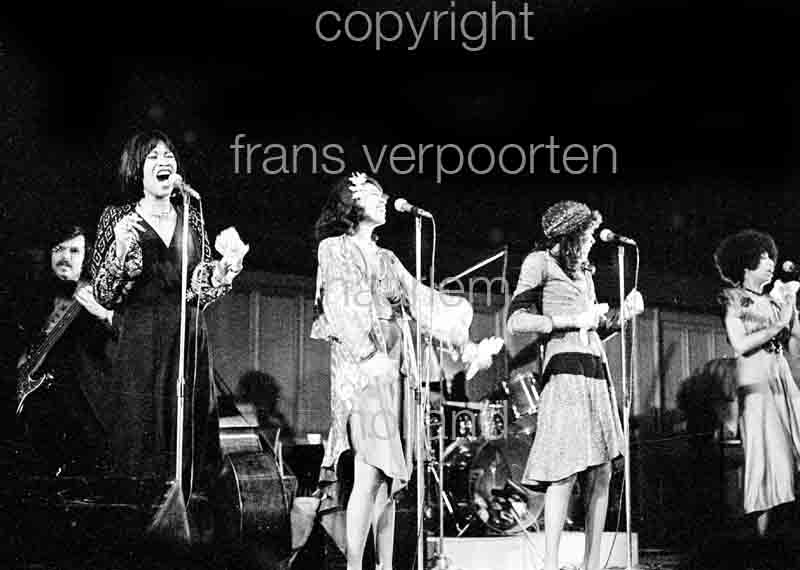 Pointer Sisters Amsterdam 1974