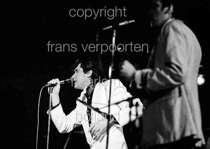 Roxy Muziek, Brian Ferry, 1976 Netherlands