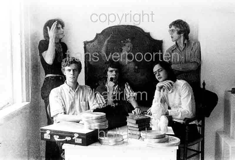 Joyce en Co Persfoto's 1972 Collectief vlnr