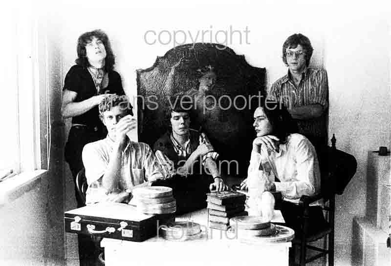 Joyce en Co Persfoto's 1972 Frans Verpoorten