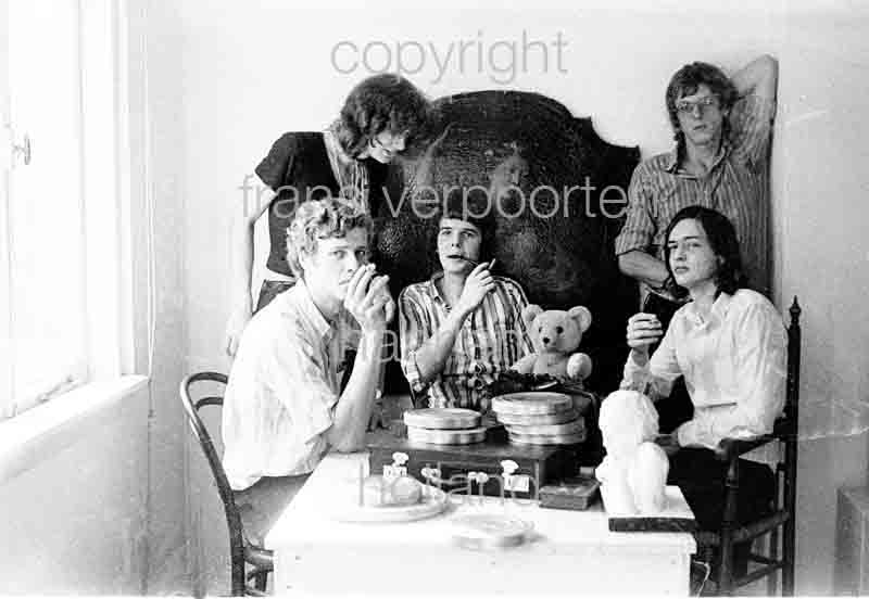 Joyce en Co Persfoto's 1972 Mick Broekhof