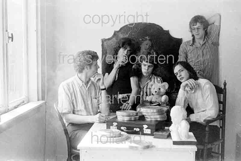 Joyce en Co Persfoto's 1972 Jeroen Fonville
