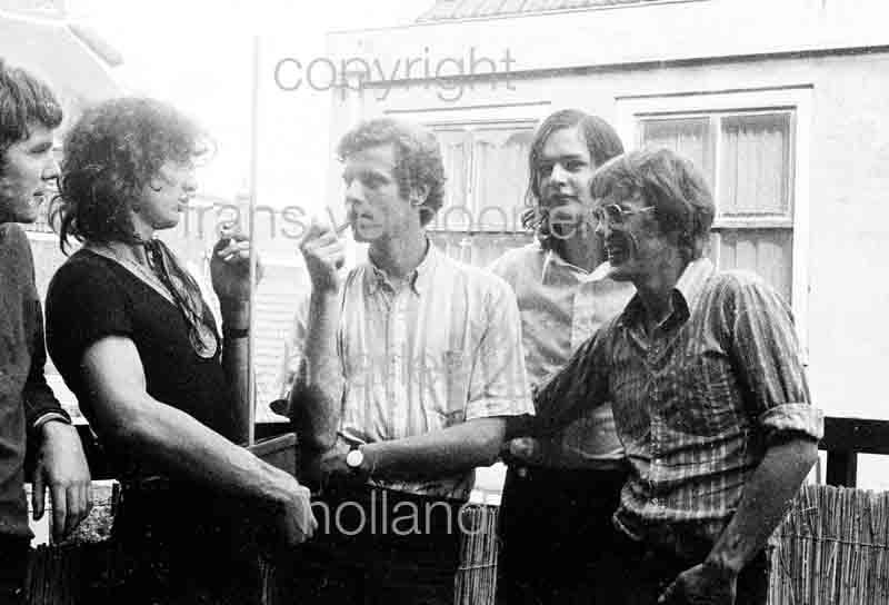 Joyce en Co Persfoto's 1972 Geerten Meijsing Frans Verpoorten