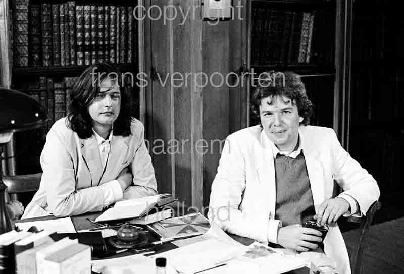 Geerten Meijsing en Keith Snell Là-bas Huysmans