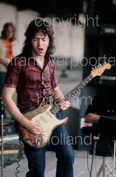 Rory Gallagher was born in County Donegal in 1948.