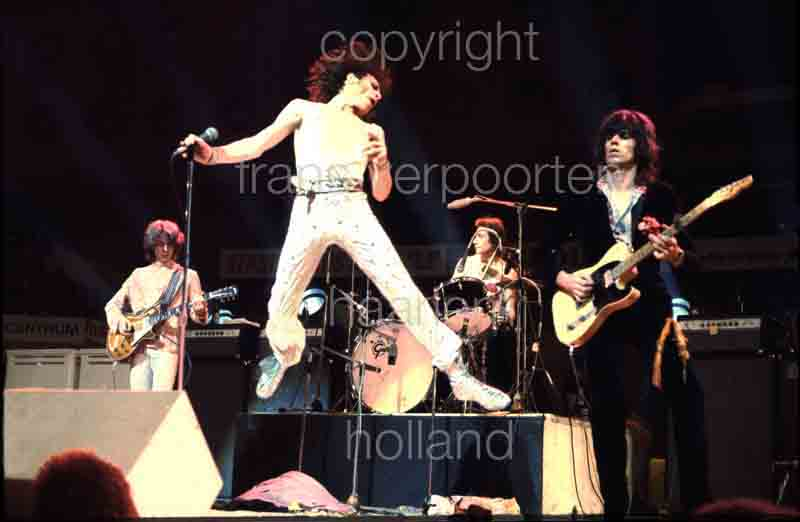 Rolling Stones Ahoy Rotterdam  14-10-1973 Orderno RS RD 028