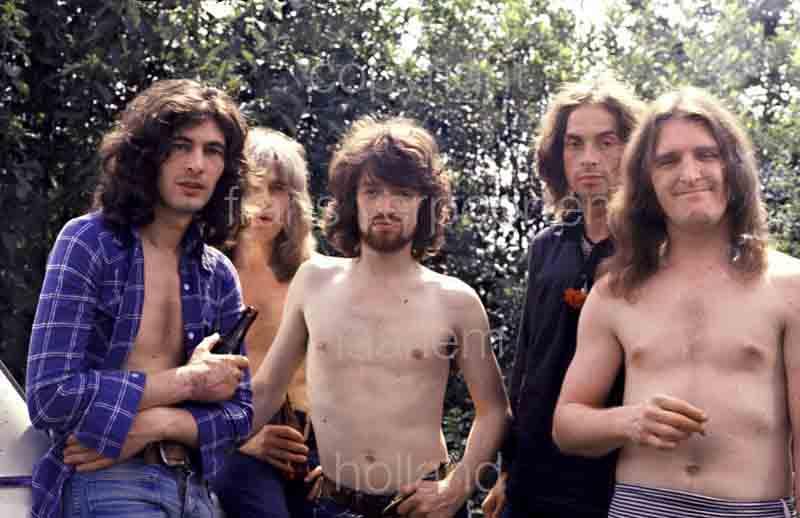 Badger live performance Netherlands 1975
