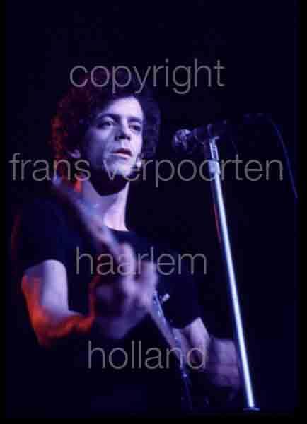 Lou Reed 1974 performance Amsterdam