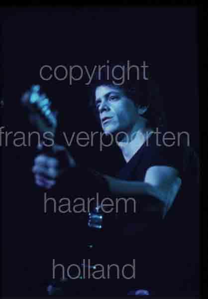 Lou Reed 1972 performance Amsterdam