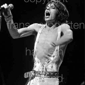 Rolling Stones Mick Jagger Ahoy Rotterdam 1973