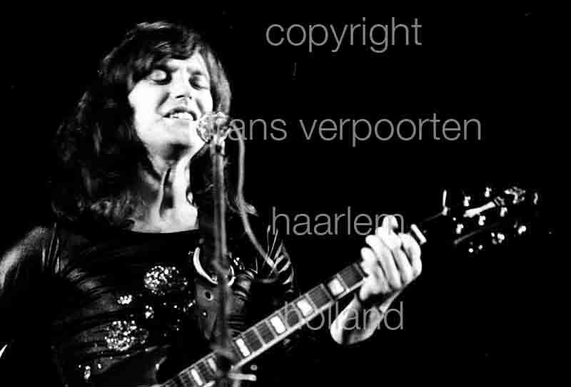 Kinks Pete Quaife 1974 Amsterdam
