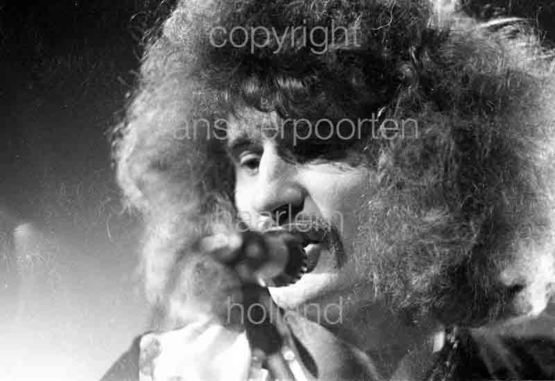 Uriah Heep David Byron Amsterdam 1974