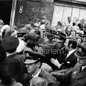 Koningin Juliana bezoekt Haarlem 1972 Amsterdamse Buurt