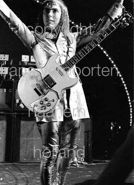 Slade Dave Hill 1973 Voorburg Netherlands