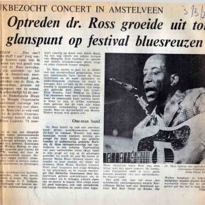 Haarlems Dagblad Blues Legends 1973 Amstelveen