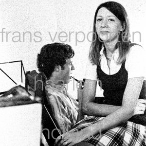 Joyce en Co Persfoto's 1972