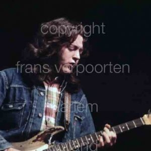 Rory Gallagher 1974 Amsterdam Netherlands