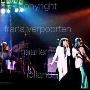 Sparks Live performance Amsterdam 1974